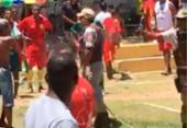 Confronto em jogo de futebol deixa um morto e um baleado em Lauro | Foto: Cidadão Repórter | Via WhatsApp