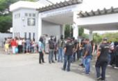 Trabalhadores da Penitenciária Lemos Brito paralisam atividades | Foto: Reprodução | Record TV