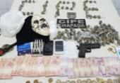 Suspeitos de tráfico de drogas são presos em Macajuba | Foto: Divulgação | SSP-BA