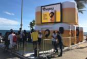 Campanha promocional dá cerveja de graça no Farol da Barra | Foto: Divulgação