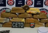 Quatorze quilos de maconha são encontrados em Jequié   Divulgação