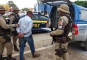 Suspeito de estelionato é detido em Seabra | Divulgação | PRF