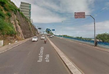 Trafego é alterado para festa da Boa Viagem em Salvador | Reprodução | Google Maps