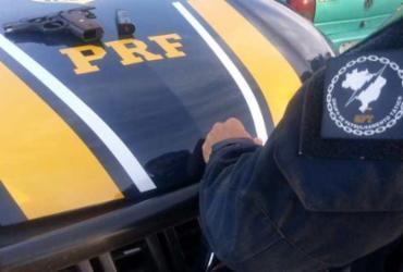 Homem é detido por porte ilegal de armas em Luís Eduardo Magalhães | Divulgação | SSP-BA