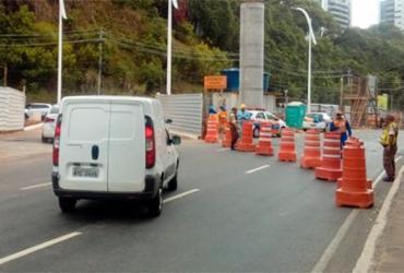 Trânsito no bairro Itaigara sofre alterações para obras do BRT