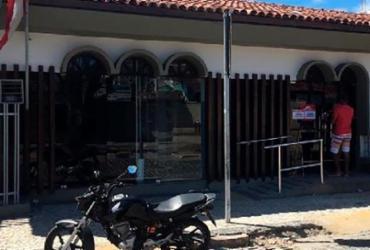 Suspeitos arrombam agência bancária em Porto Seguro | Reprodução | Radar 64