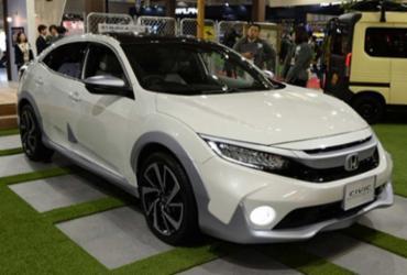 Honda apresenta Civic aventureiro no Japão | Divulgação