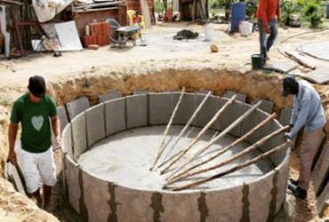 Mais 170 cisternas estão sendo construídas em Sobradinho e Casa Nova