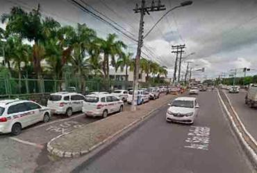 Colisão entre carro e moto deixa trânsito lento na avenida São Rafael | Reprodução | Google Maps