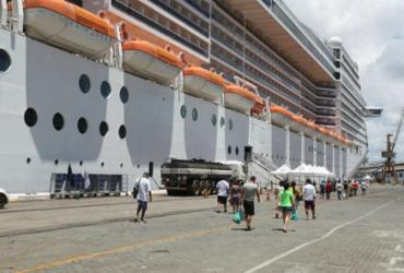 Bahia lucra com temporada de navios   Luciano da Matta   Ag. A TARDE