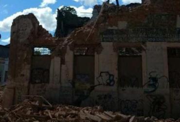 Patrimônio histórico desaba em Cachoeira   Reprodução   site Recôncavo Online