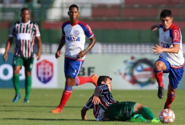 Bahia empata com Fluminense de Feira em estreia no Baianão | Felipe Oliveira | EC Bahia | Divulgação