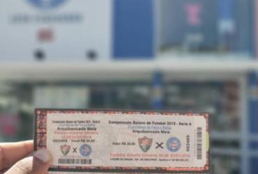 Loja do Esquadrão vende ingressos para Flu de Feira e Bahia | Reprodução | EC Bahia