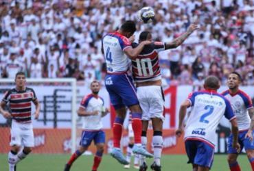 Com dois gols de Gilberto, Bahia derrota Santa Cruz fora pelo Nordestão | Rodrigo Baltar | Santa Cruz