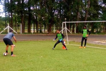 Base rubro-negra volta a encarar Palmeiras | Reprodução | EC Vitória
