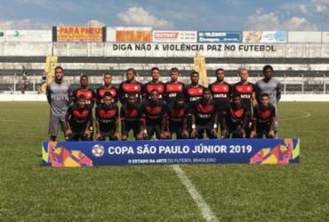 Vitória vence e consegue classificação na Copa São Paulo | Divulgação