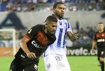 Zagueiro espera bom público no Barradão neste sábado | Morgana de Oliveira / CSA