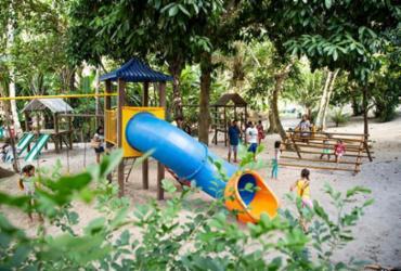 Parque ecológico é diversão garantida em Lauro de Freitas
