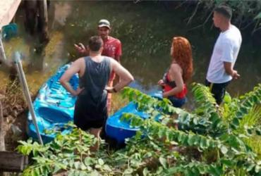Homem morre após pular de ponte em rio | Reprodução | Radar64