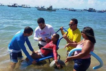 Praia para Todos será lançado em Praia do Forte