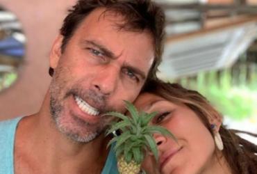 Ator Marcelo Faria assume romance com baiana | Reprodução