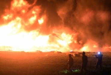 Sobe para 73 número de mortos após explosão em duto de combustível | Francisco Villeda | AFP