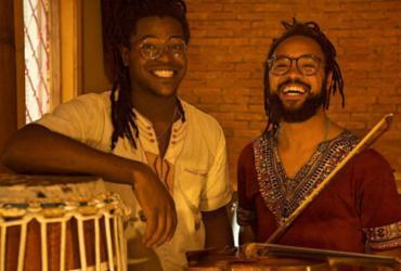 Duo paulistano AfroAquarela se apresenta no Pelourinho | Divulgação