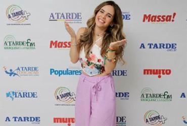 Mariana Fagundes fala sobre carreira e participação no Baile da Santinha | Gilberto Junior / Ag. A TARDE