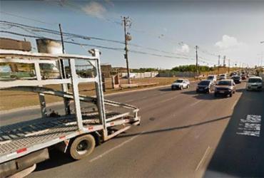 Acidente envolvendo seis veículos deixa trânsito lento na Av. Paralela | Reprodução | Google Maps