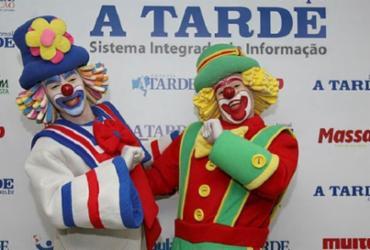 O espaço permite as crianças uma interação com os personagens da série Parque Patati Patatá - Tiago Caldas / Ag. A TARDE