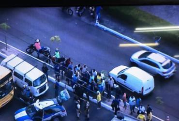 Tiroteio deixa duas pessoas mortas e outra ferida na Avenida Barros Reis | Reprodução| TV Record