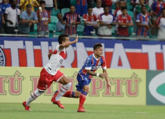 Bahia e CRB empatam ao estrear em campeonato | Reprodução | Twitter