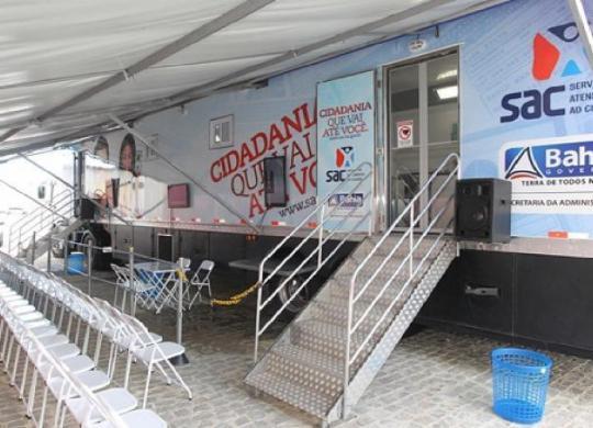 SAC Móvel oferece serviços gratuitos na Arena Fonte Nova | Divulgação