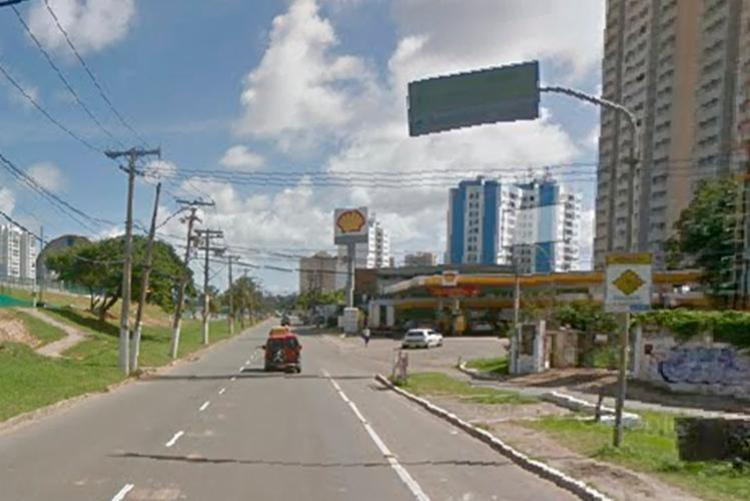 Acidente ocorreu próximo à entrada do Trobogy - Foto: Reprodução | Google Maps