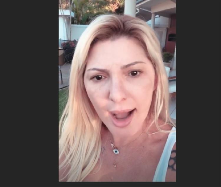 Em vídeo publicado nos 'stories' do Instagram, Antonia Fontenelle desabafou
