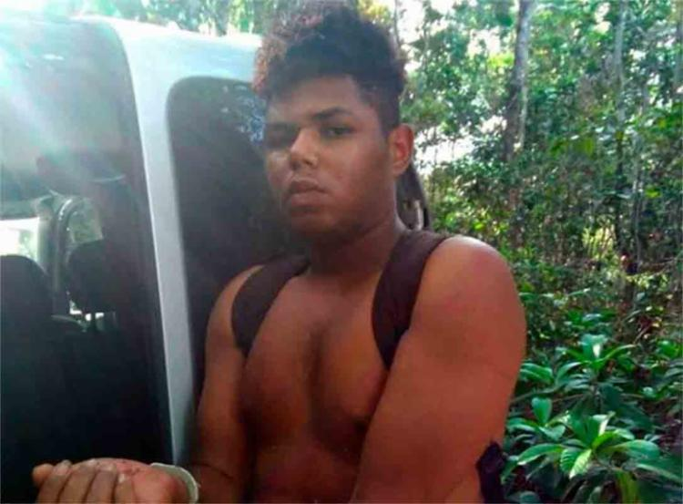 Supeito foi preso após ser baleado no confronto com a polícia - Foto: Reprodução | Siter Radar64