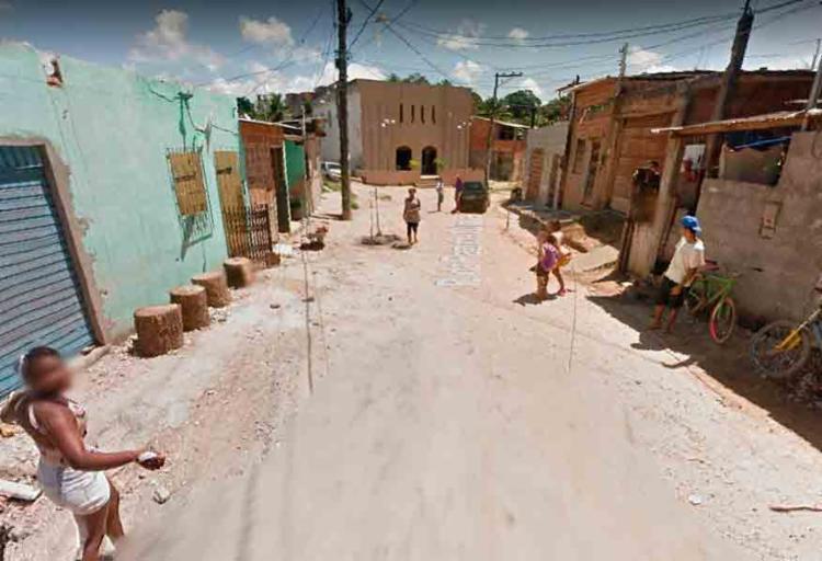 O acidente ocorreu na rua 28 de dezembro, no Bairro da Paz - Foto: Reprodução | Google Maps