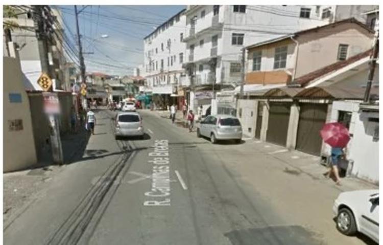 Acidente ocorreu na na rua Campinas de Brotas - Foto: Reprodução | Google Street View