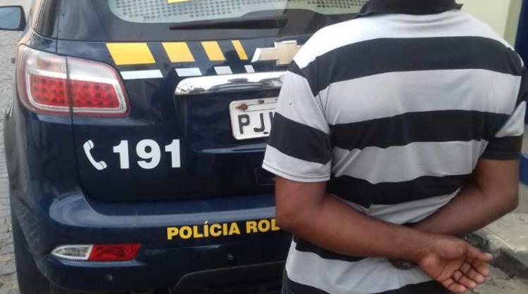 O suspeito é residente de Feira de Santana - Foto: Divulgação   PRF-BA