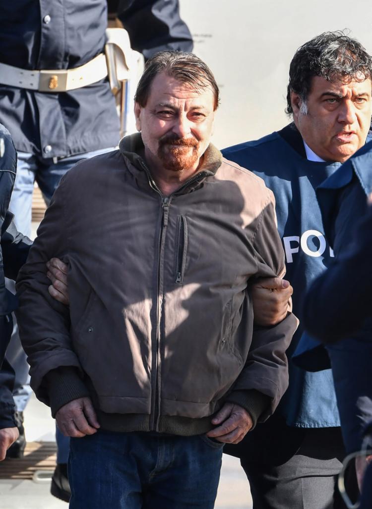 Italiano deverá ser encaminhado por um grupo de agentes penitenciários para a prisão de Rebibbia - Foto: Alberto Pizzoli | AFP