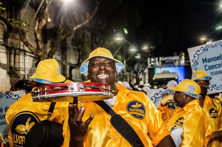 Alvorada é o mais antigo bloco de samba a desfilar no carnaval de Salvador - Foto: Divulgação | Bloco Alvorada