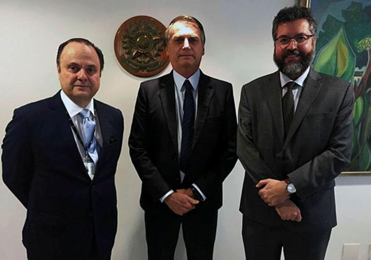 O novo presidente da agência é o embaixador Mario Vilalva - Foto: Jair Bolsonaro / Redes Sociais / Reprodução