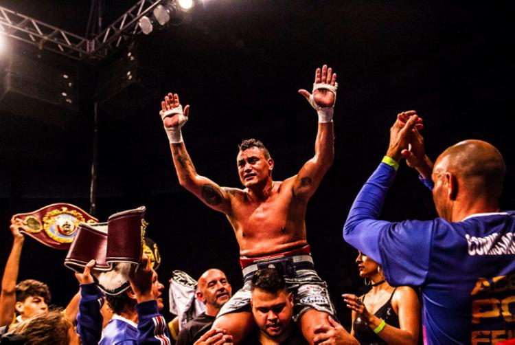 Popó comemora o bom momento pelo qual passa o boxe brasileiro - Foto: Maycon Nunes   Ascom Popó   Divulgação