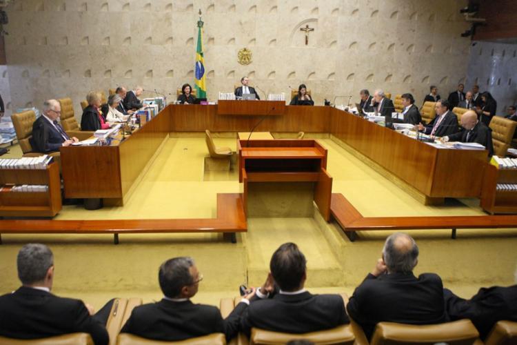 A decisão de voltar a julgar processos polêmicos foi tomada pelo presidente da Corte, ministro Dias Toffoli - Foto: Nelson Jr. | SCO | STF