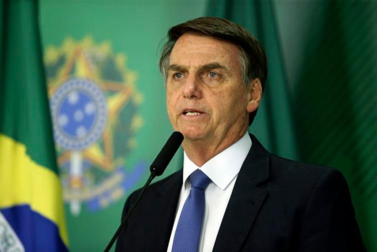 Bolsonaro também destacou que um gabinete de crise monitora a situação - Foto: Valter Campanato | Agência Brasil