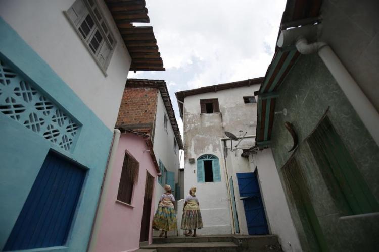 O terreiro, fundado por Severiano Porto, funciona há 85 anos em Plataforma - Foto: Raphael Muller / Ag. A TARDE