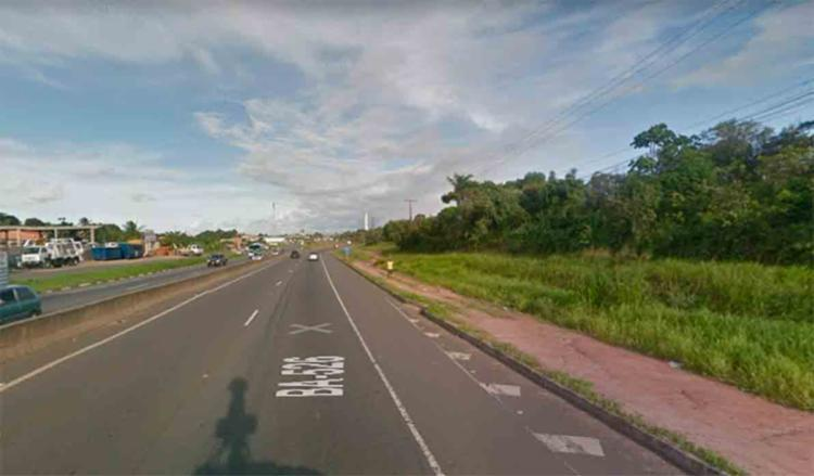 O acidente ocorreu na estrada do CIA/Aeroporto - Foto: Reprodução| Google Maps