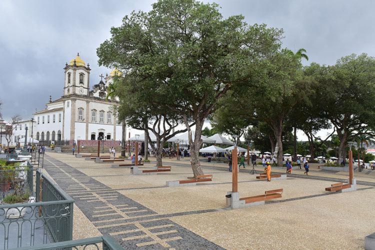 antuário da Basílica foi inteiramente revitalizado e ampliado, ganhando aspecto urbanístico - Foto: Max Haack | Divulgação
