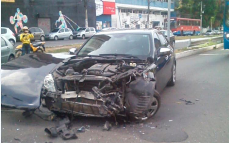 Os veículos foram retirados do local e o transito flui naturalmente - Foto: Cidadão Repórter | via Whatsapp