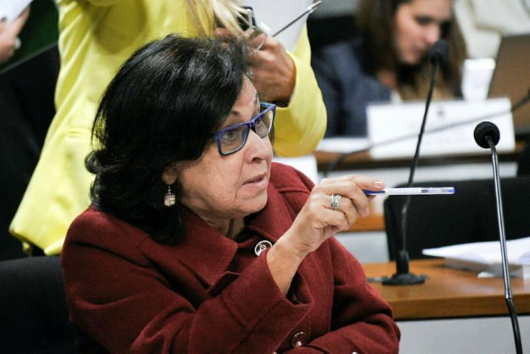 Lídice fez a inevitável comparação com Mariana - Foto: Geraldo Magela | Agência Senado